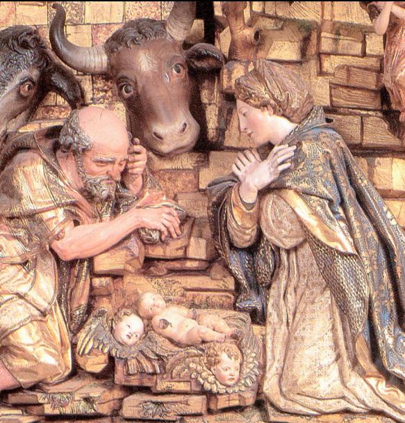El nacimiento de Jesús de Diego de Siloé en la Catedral de Burgos