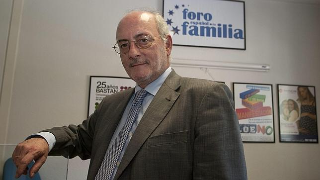 Benigno Blanco, presidente del Foro Español de la Familia, impartió una conferencia en Burgos.