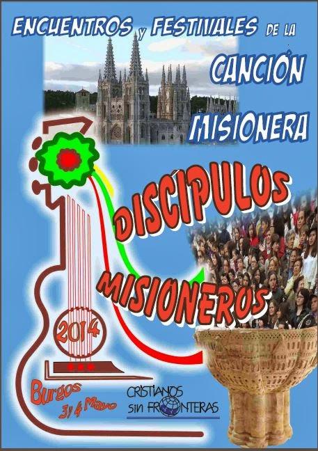 """""""Discípulos misioneros"""" ha sido el lema del festival de este año."""