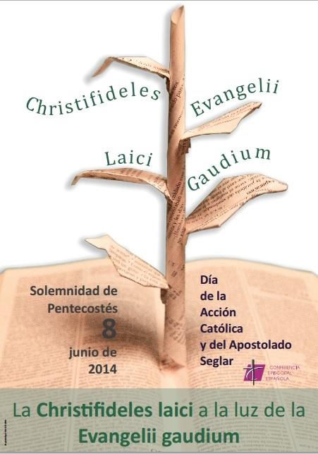 """La jornada del apostolado seglar quería conjugar la """"Christifideles Laici"""" con la """"Evangelii Gaudium""""."""
