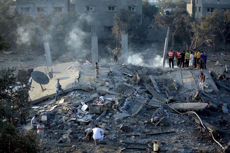 bombardeo en gaza