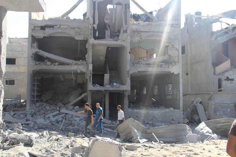 gaza bombas