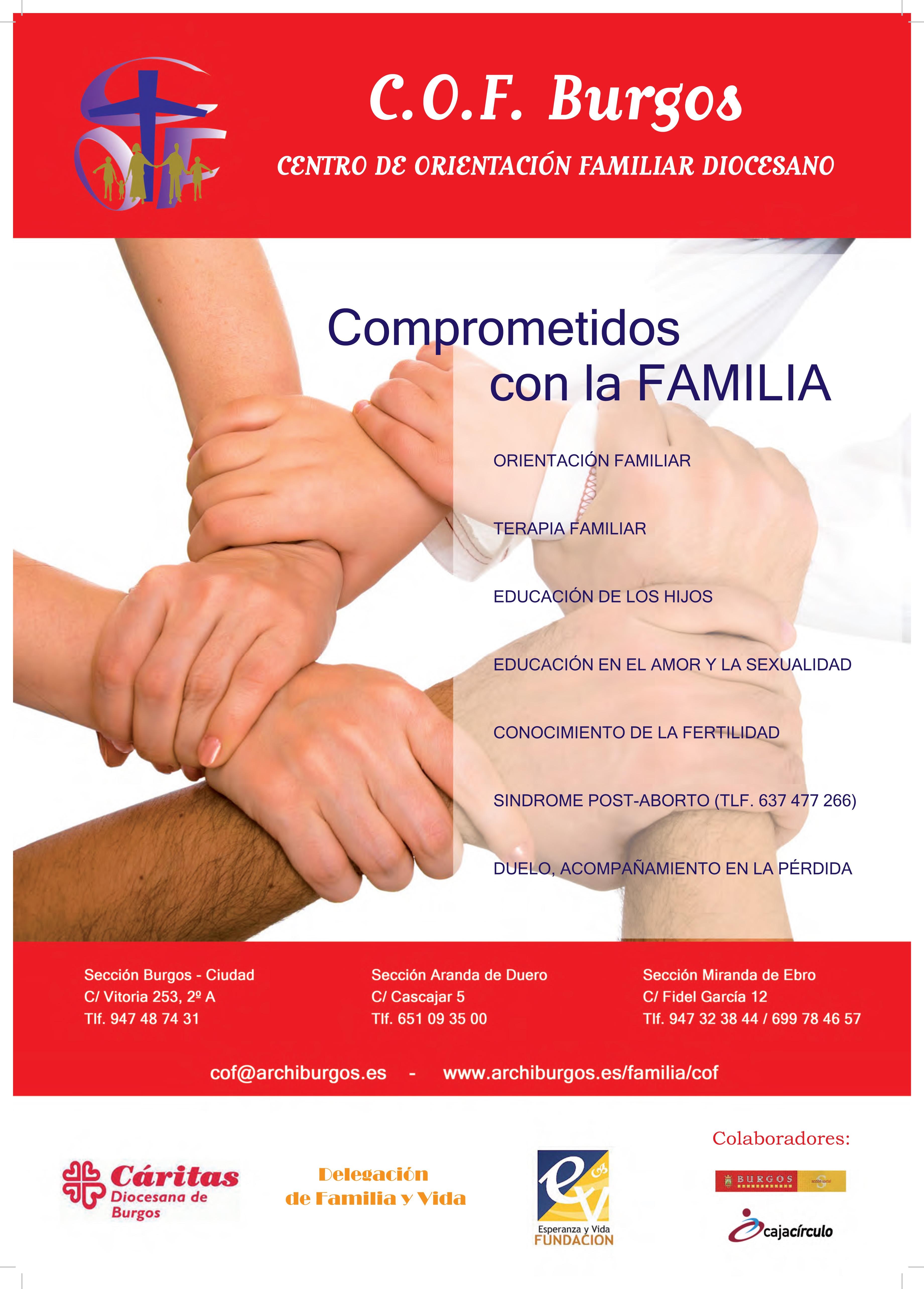 El COF de Burgos se dispone a celebrar su 15 aniversario a lo largo de este mes de octubre.