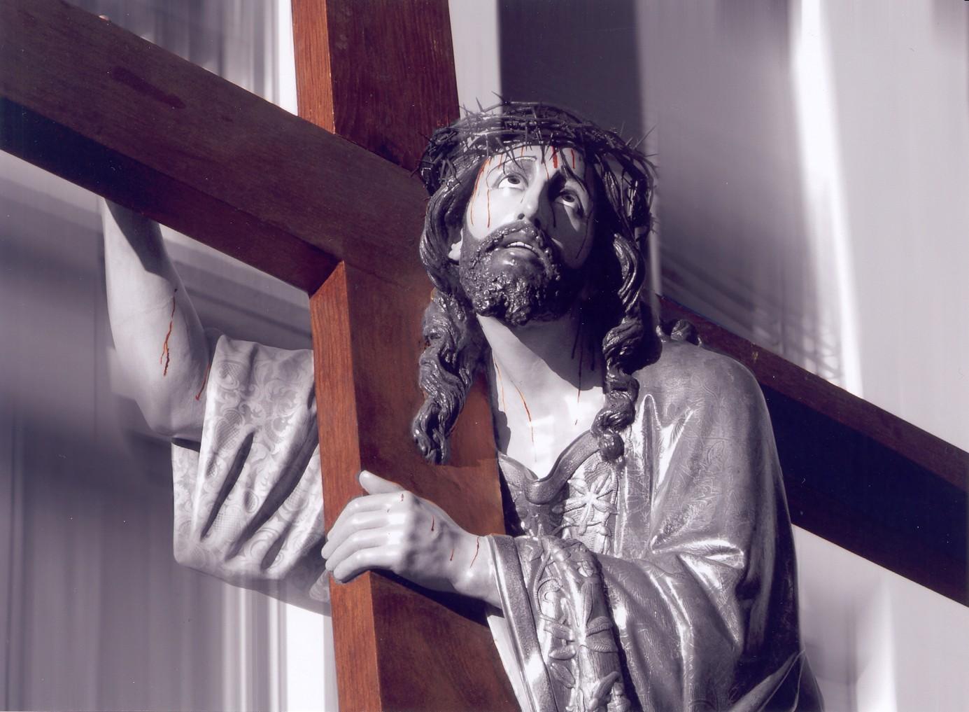 jesus con la cruz a cuestas burgos