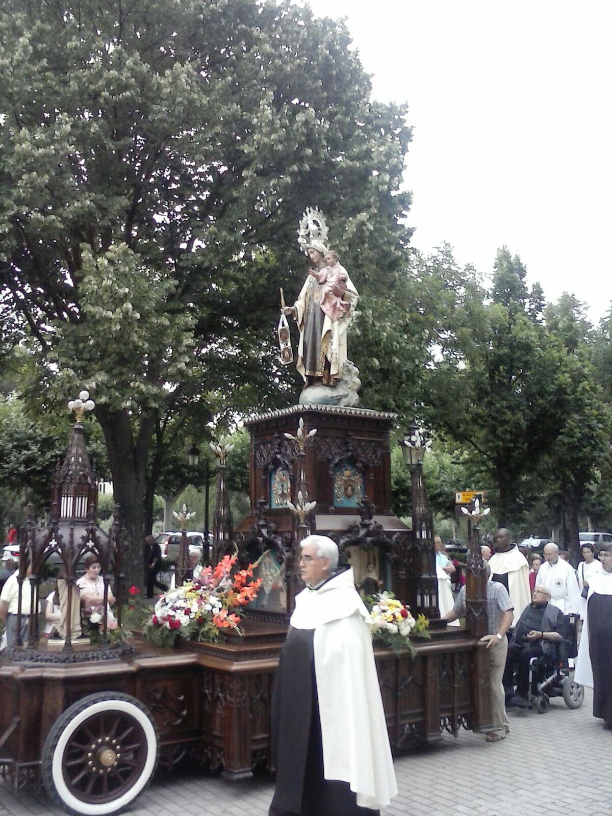 procesion del carmen
