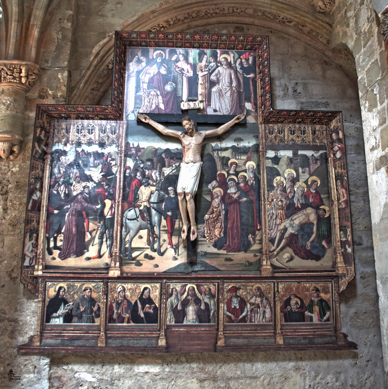 retablo cristo oña