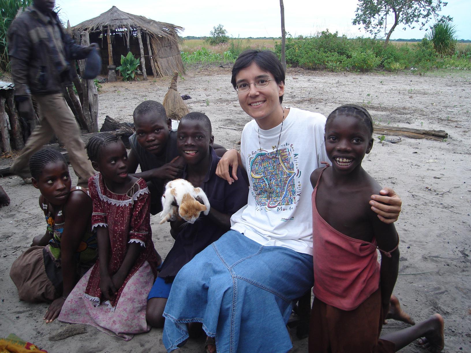 misionera Zambia