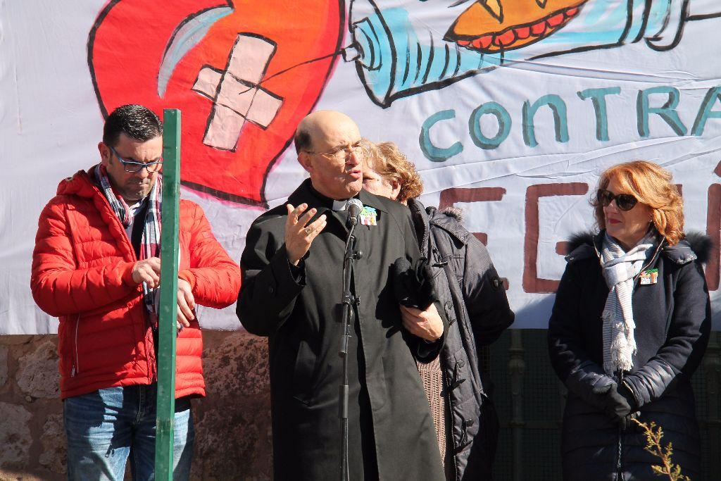 Don Fidel, en una reciente «Operación Bocata».