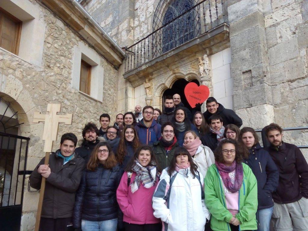 Jóvenes de la diócesis en un reciente encuentro.