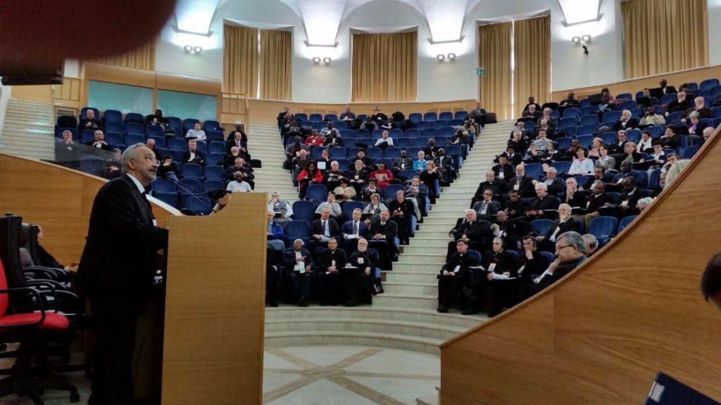 Discurso en Roma  en el Consejo de Migraciones 2