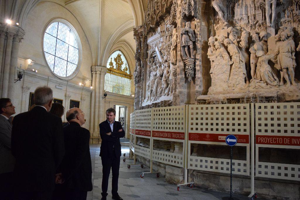 El arzobispo se interesó por el proyecto hace unos meses.