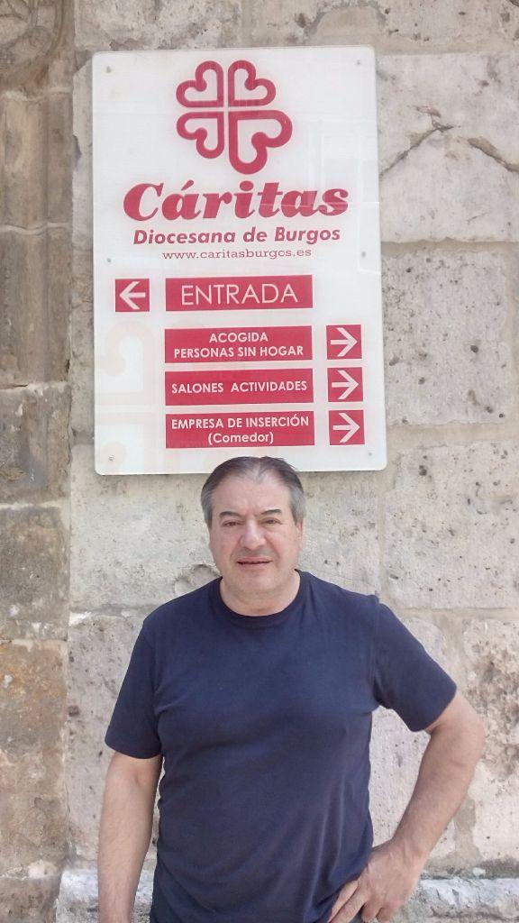 Fernando es uno de los participantes en Cáritas.