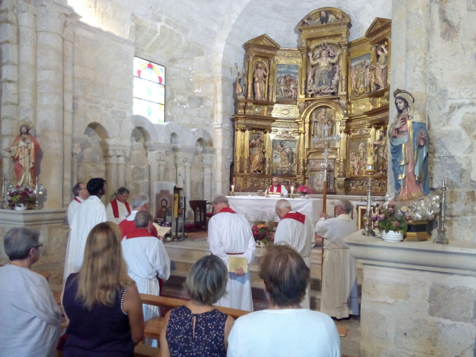 La celebración ha tenido lugar en la parroquia de Palacios de Benaver.