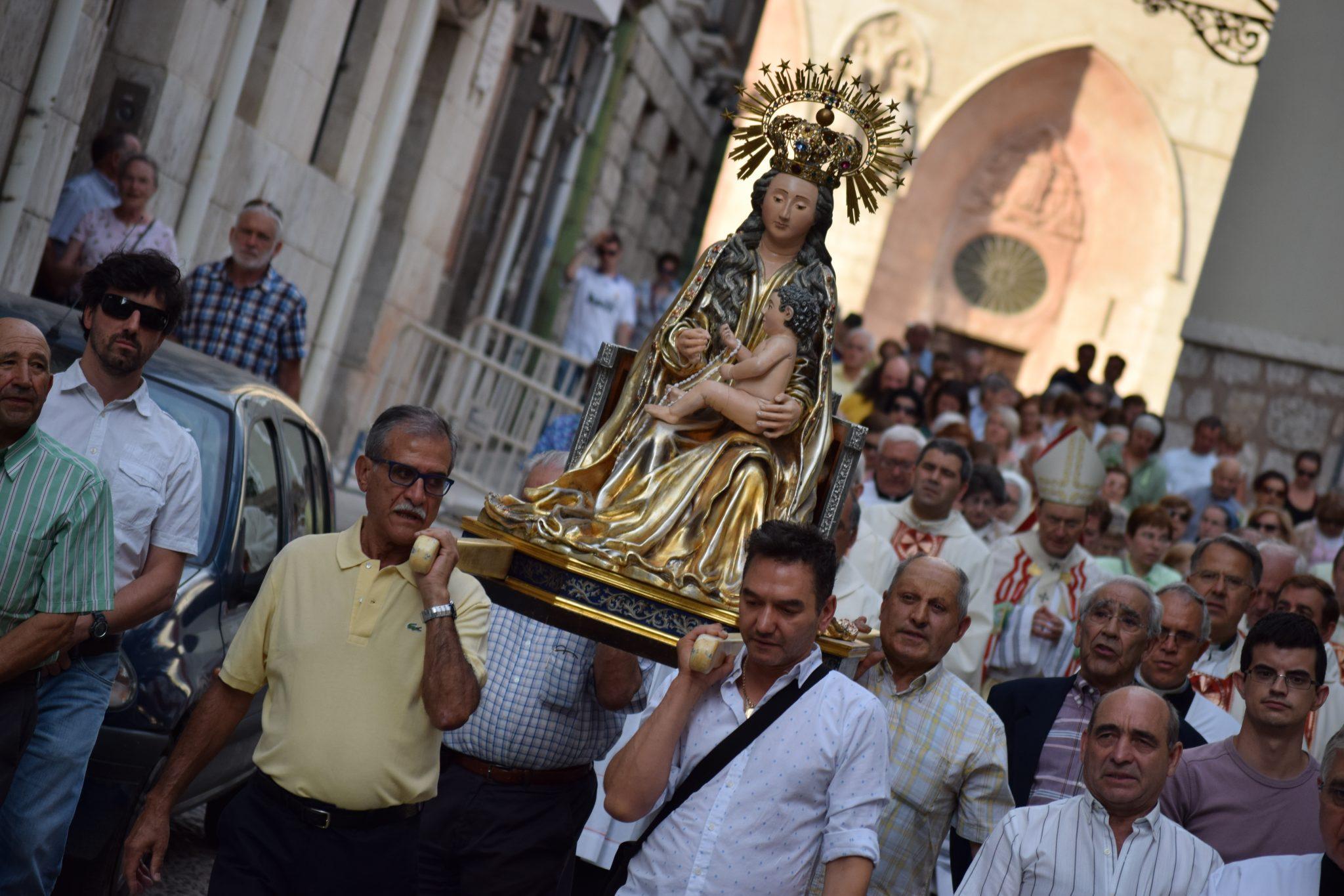 Una procesión con la imagen de la Virgen recorrerá las calles el 14 de agosto.
