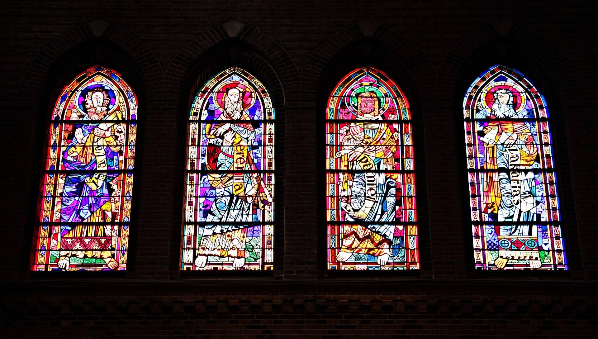 vidriera santos