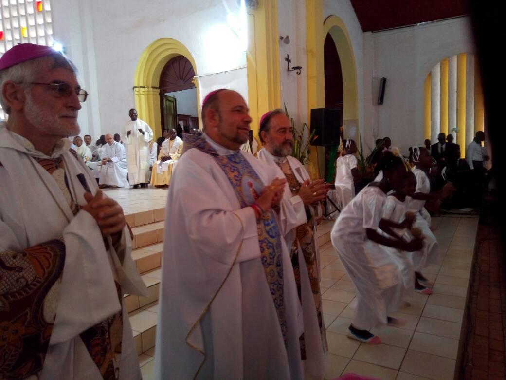 Jesús Ruiz Molina, el día de su ordenación episcopal.