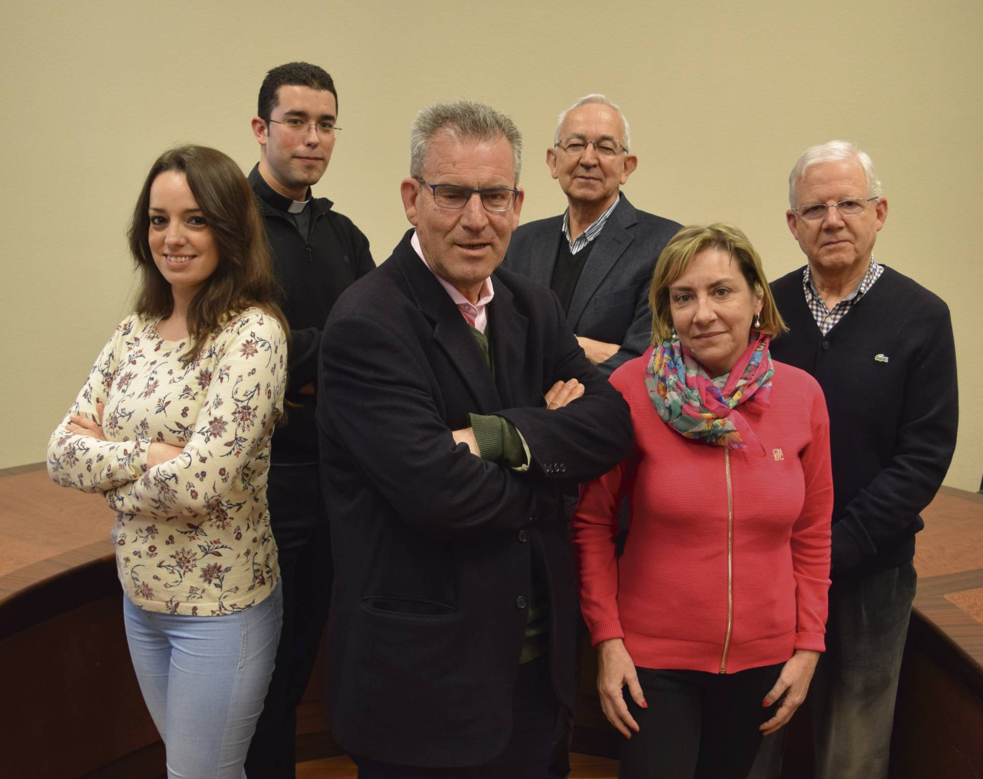Equipo que conforma la delegación de Medios de Comunicación de la diócesis.