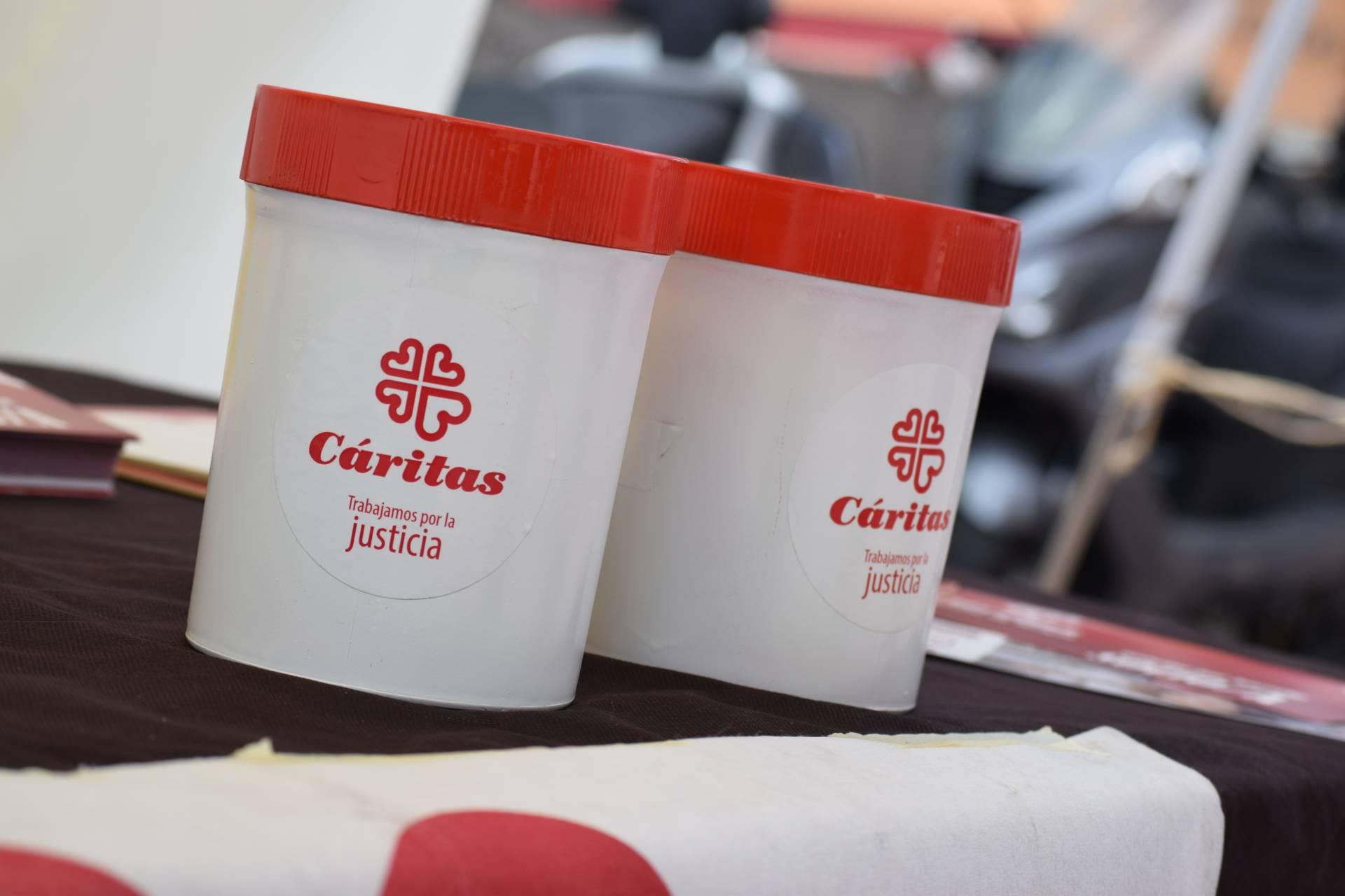 donativos coronavirus Cáritas Burgos