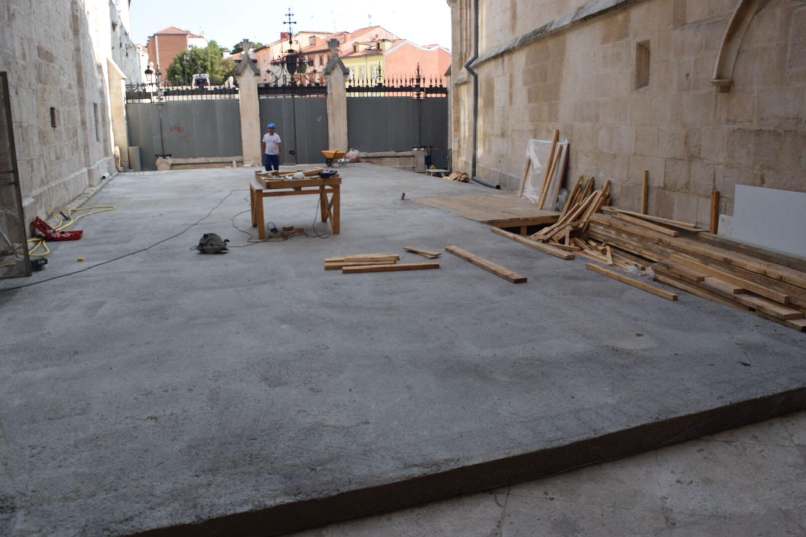 La puerta de Pellejería albergará el taller de restauración.