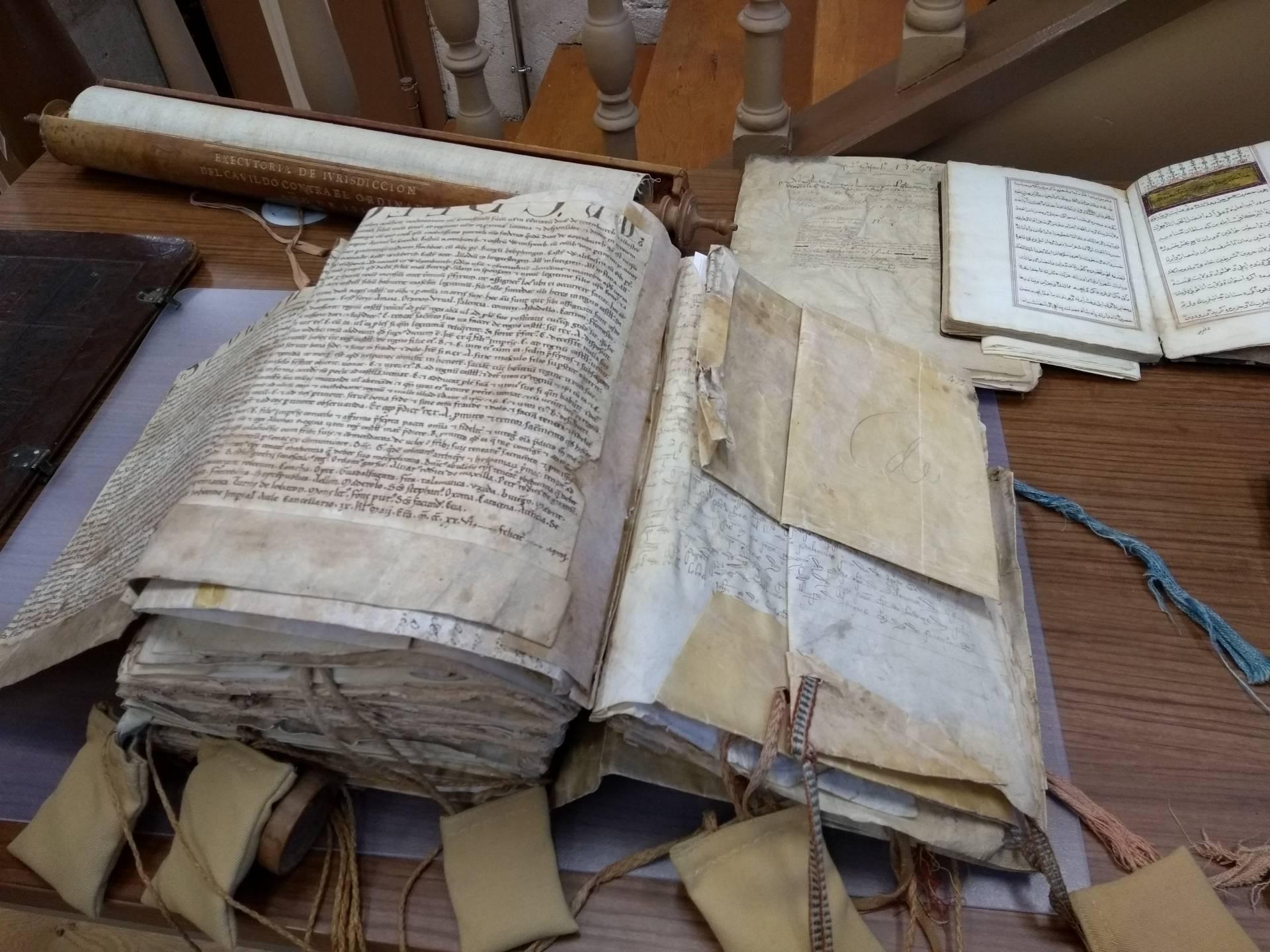 Los incendios calcinaron los documentos custodiados en el archivo diocesano.