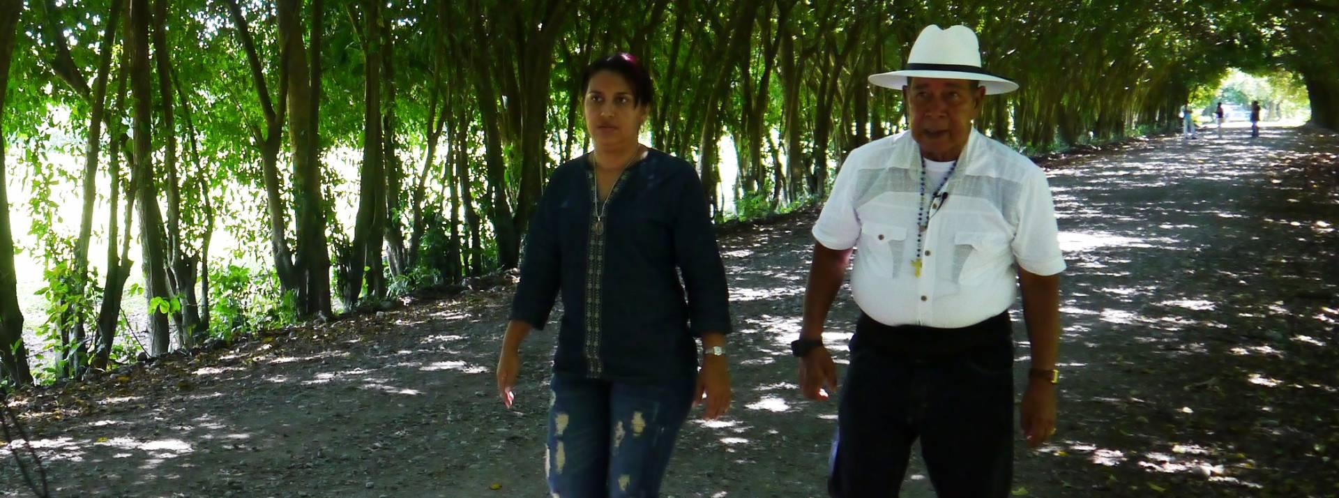 Jeny Castañeda y Ramón Isaza.