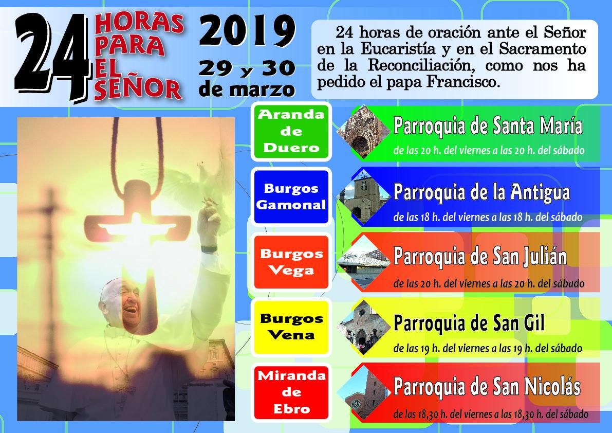 Cartel 24 horas 2019