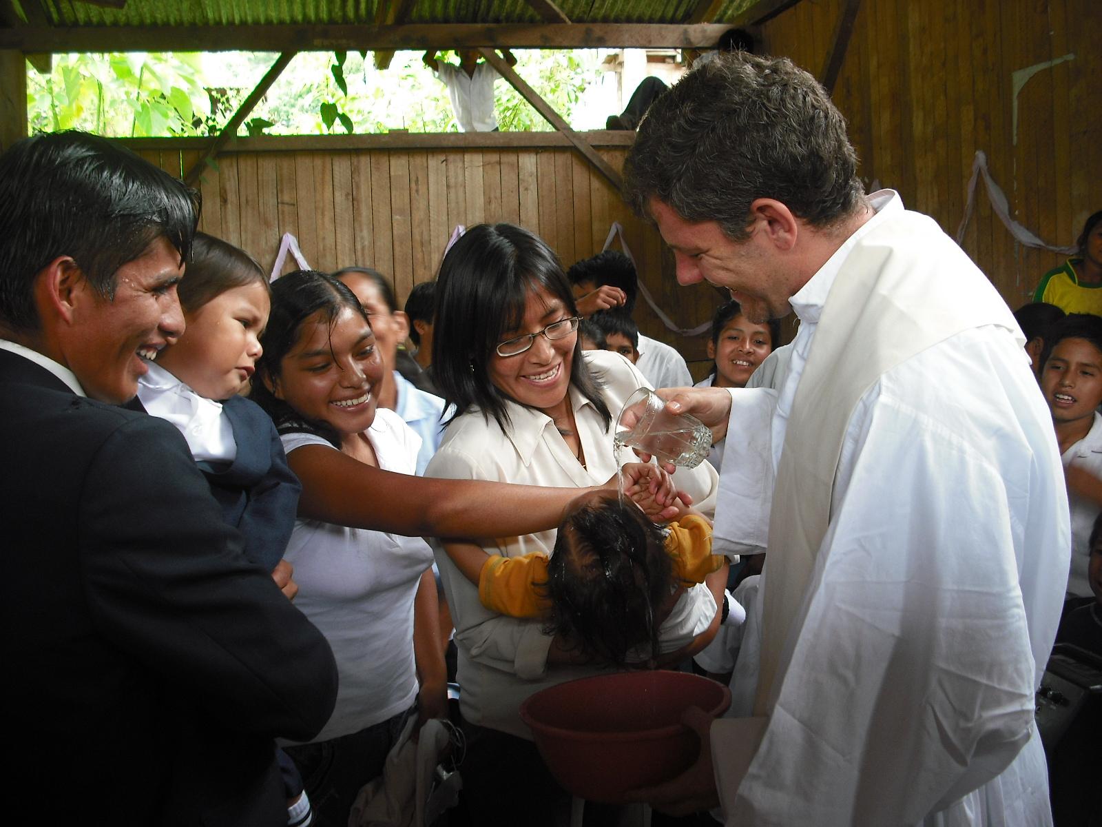 Ricardo García, Richi, fue misionero en Perú y ahora es párroco de Pancorbo y otros pueblos del entorno.