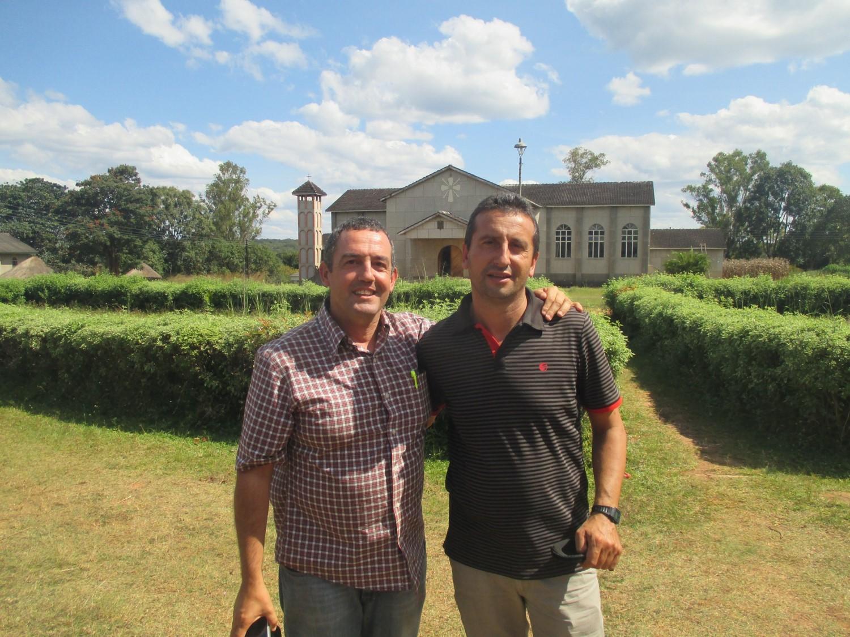Jorge y Luis Carlos son dos sacerdotes misioneros burgaleses.