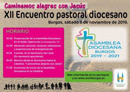 Encuentro diocesano de pastoral @ Varios lugares