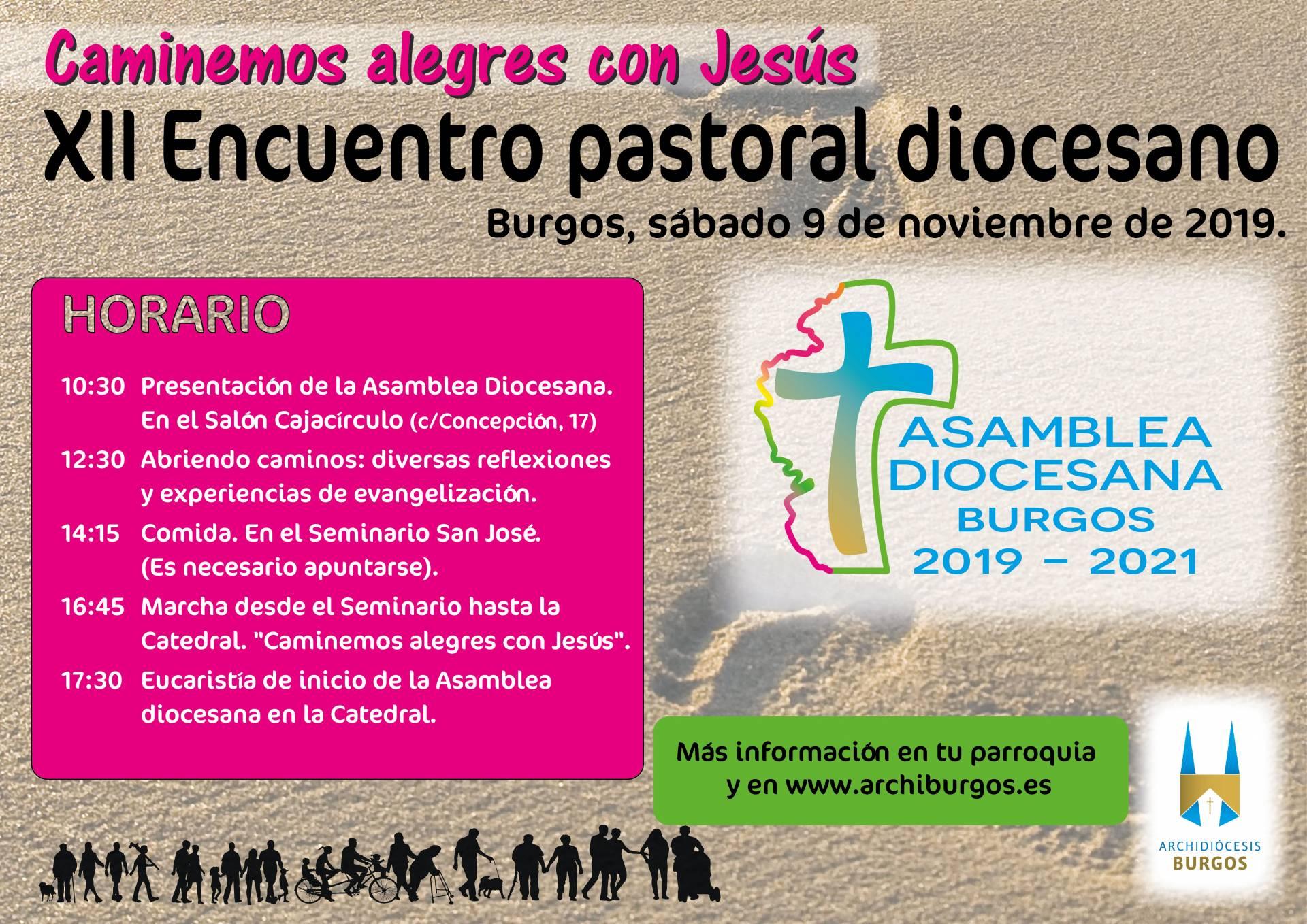 Cartel XII Encuentro Pastoral Diocesano 2019