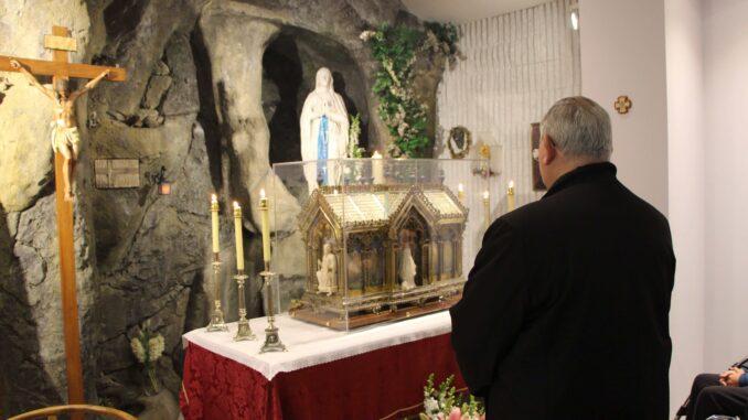 La diócesis de Cartagena fue la primera en recibir las reliquias de la santa.