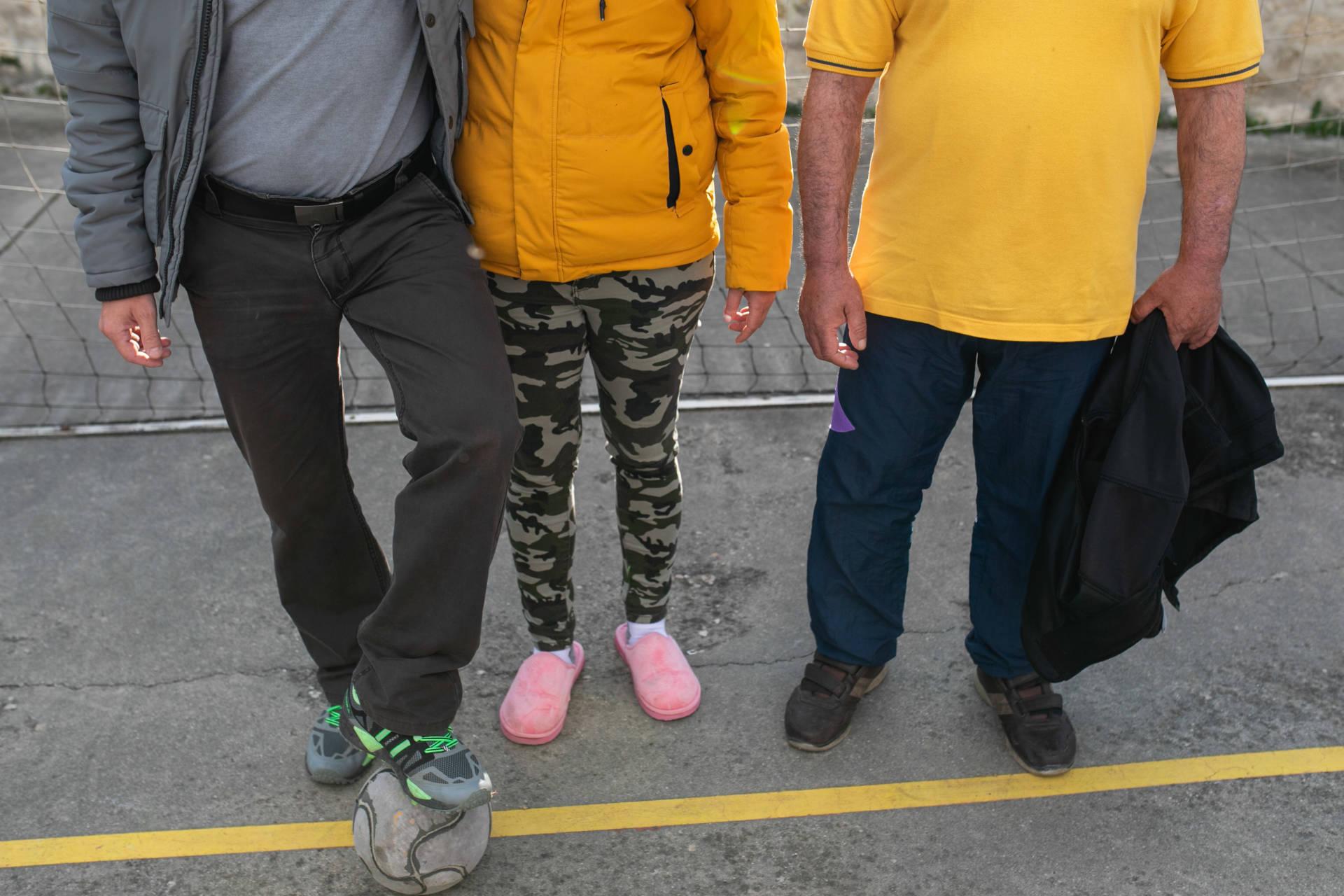 Jorge y Jhoana personas sin hogar albergue seminario