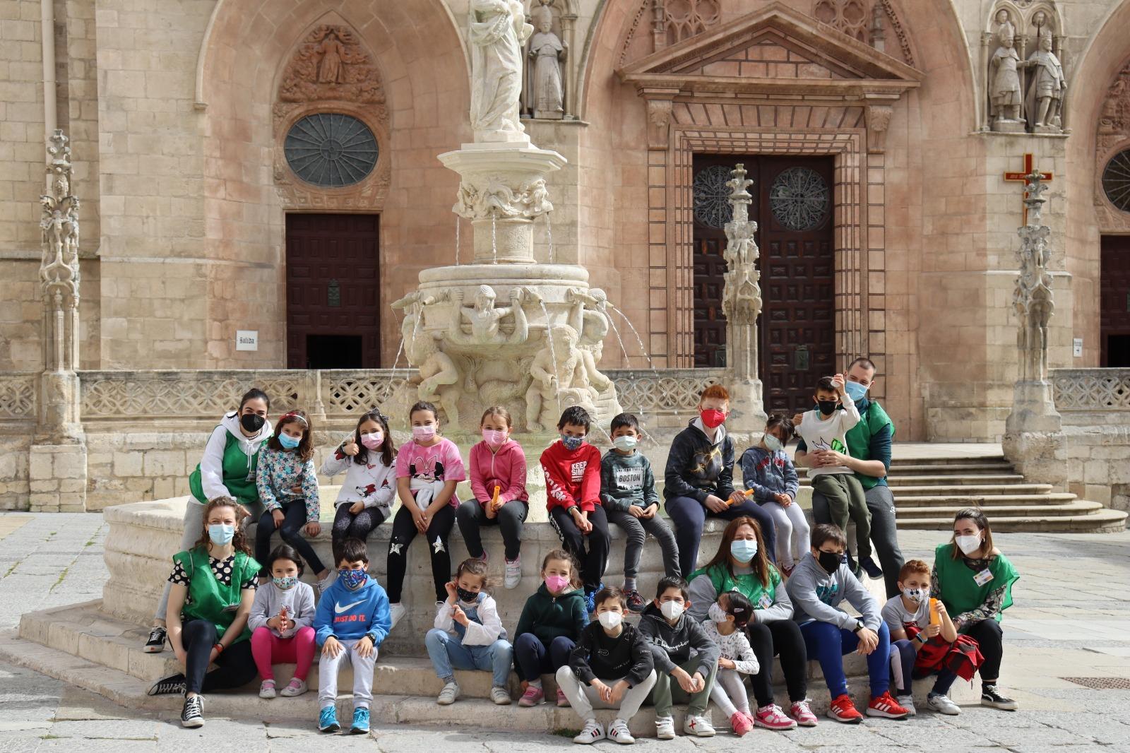 campamento urbano semana santa catedral voluntared